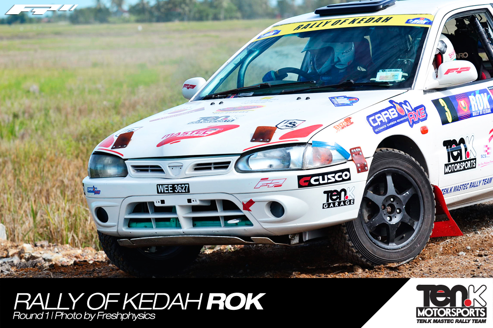 Ten.K Mastec Rally Team @ Rally Of Kedah Round 1